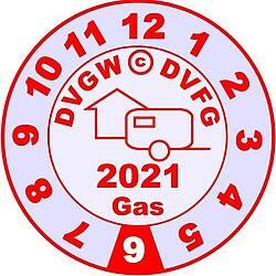 Plakette Gasprüfung für Wohnmobile