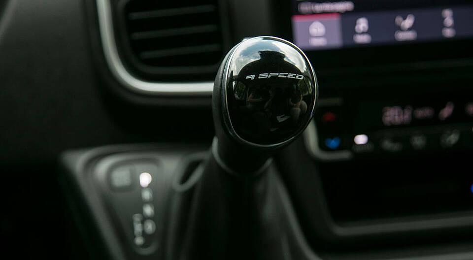 Artikelbild: Schaltknauf beim 9-Gang-Getriebe des Fiat Ducato Serie 8