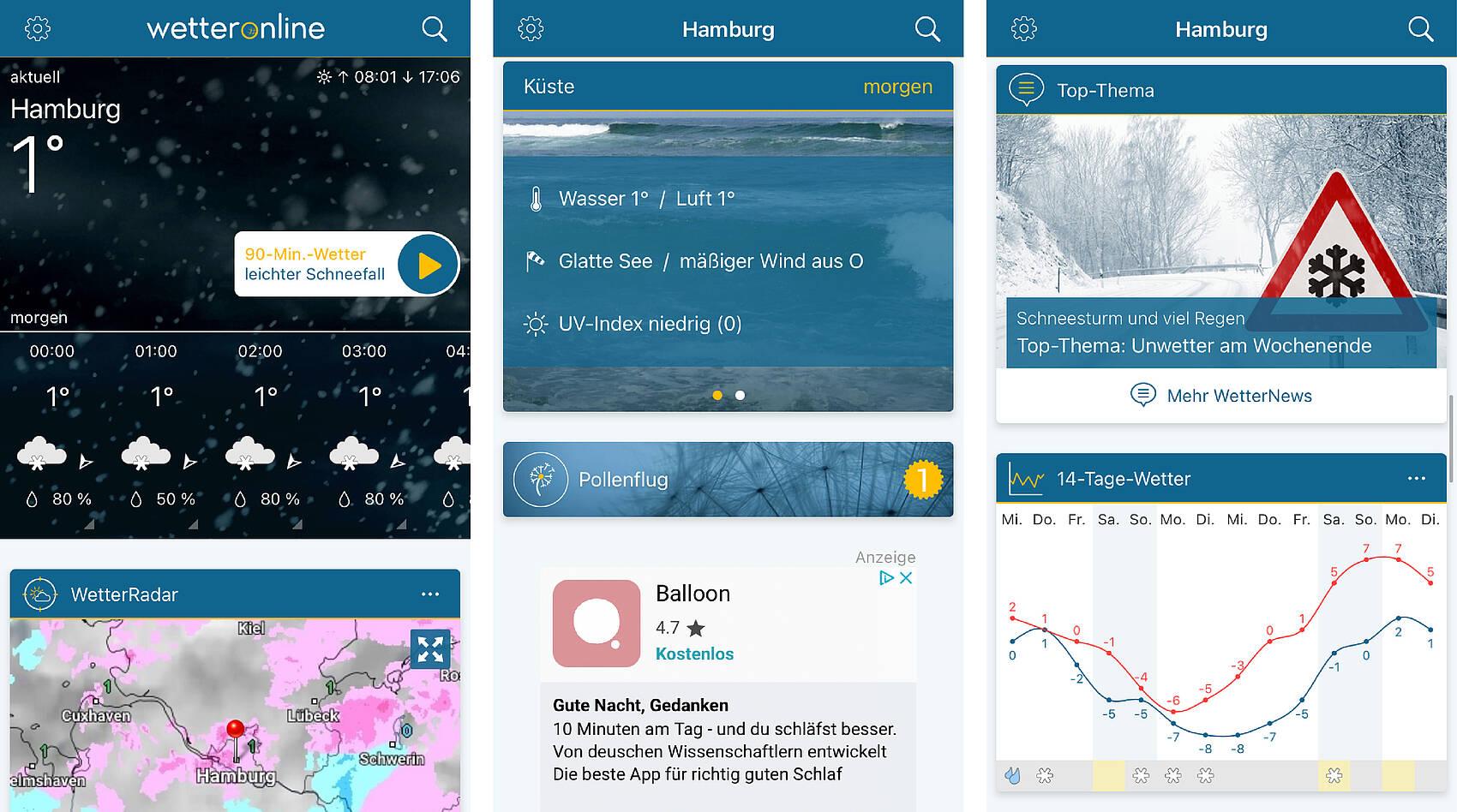 Wetter Online App