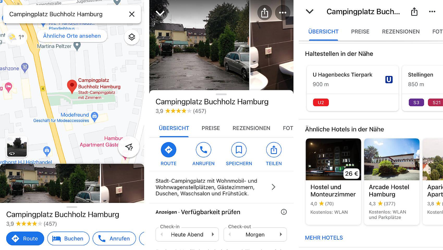 Google Maps Karten App