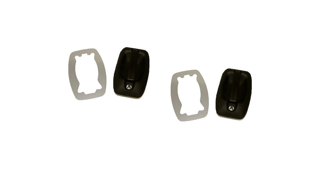 Stechschutzplatten für Türgriffe