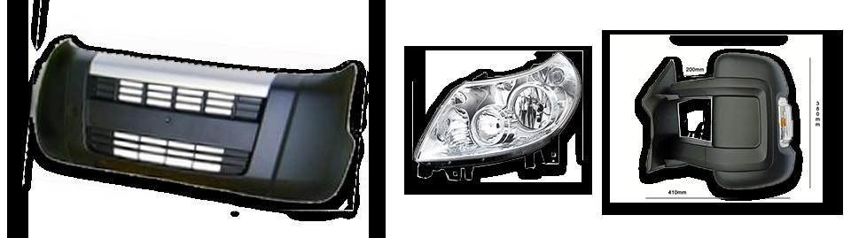 Ersatzteile für Fiat Karossierie- und Anbauteile
