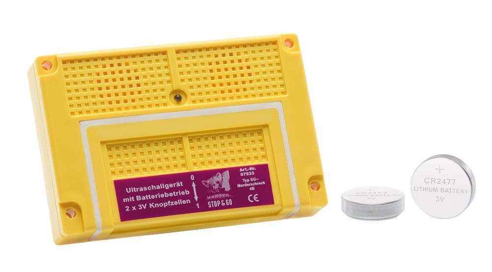 Ultraschall Batterie zur Marderabwehr