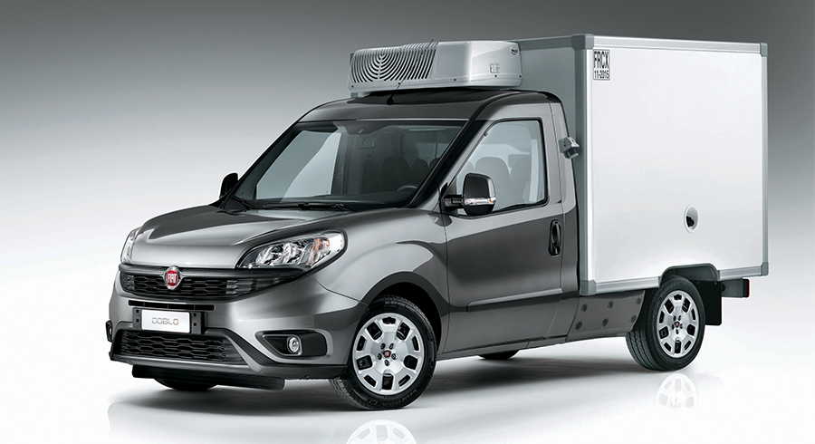Fiat Doblò Cargo Fahrgestell mit Kofferaufbau