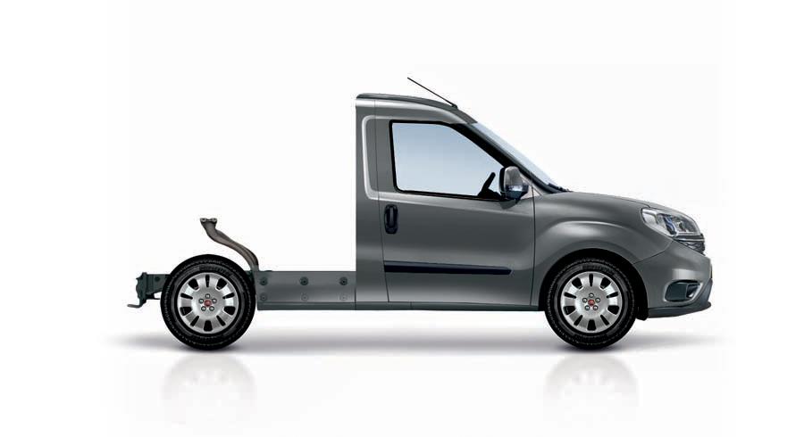 Fiat Doblò Cargo Fahrgestell mit kurzem Radstand