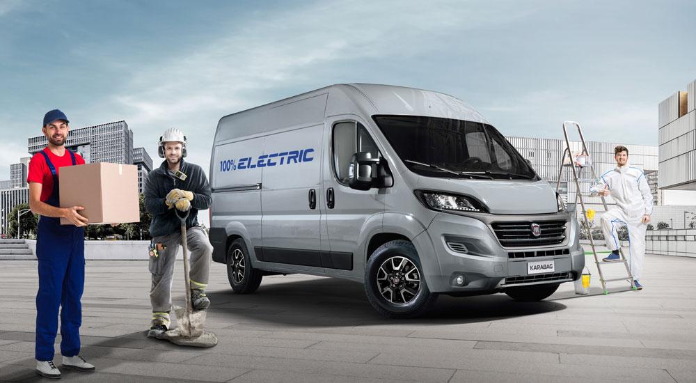 E-Ducato für Kurierfahrer, Bauarbeiter und Handwerker