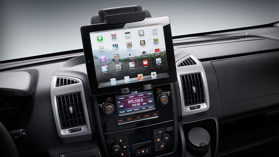 Fiat Ducato Radio und Infotainment