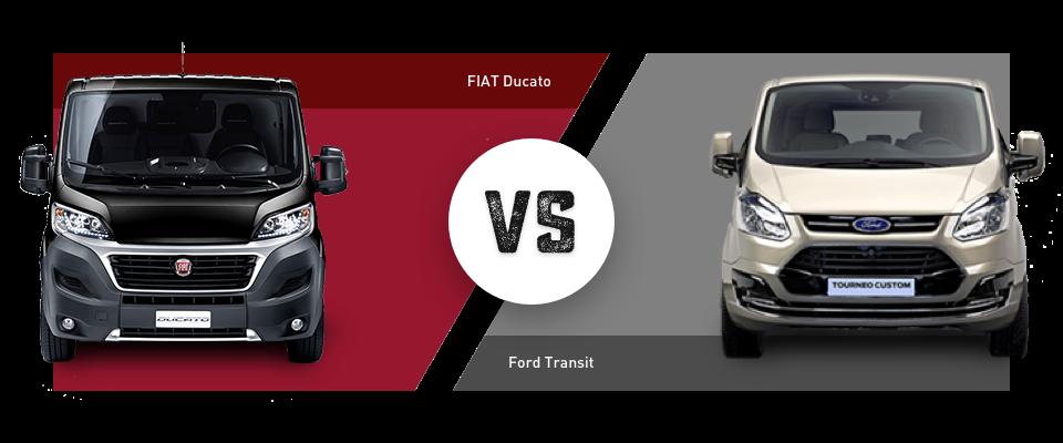 Im Vergleich: Fiat Ducato vs. Ford Transit