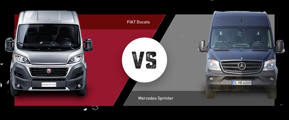 Im Vergleich: Fiat Ducato vs. Mercedes-Benz Sprinter
