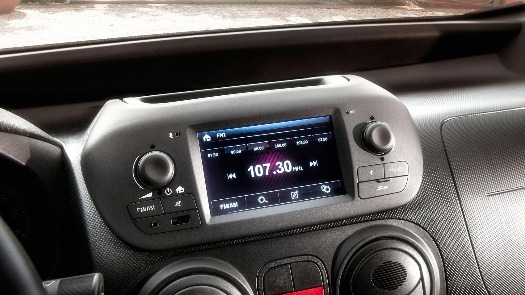 Fiat Fiorino Infotainment-System