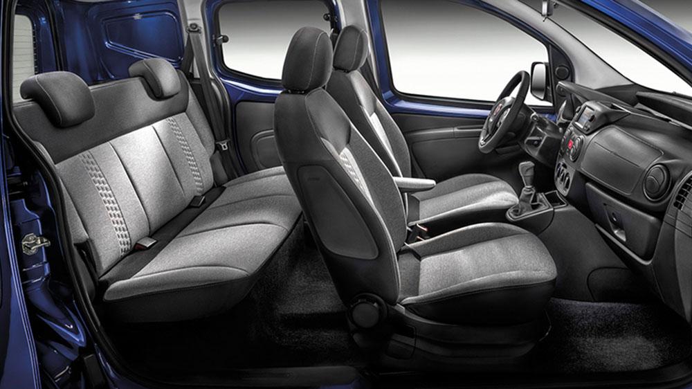 Fiat Fiorino Kombi Innenraum