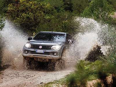Der neue Fiat Fullback Cross