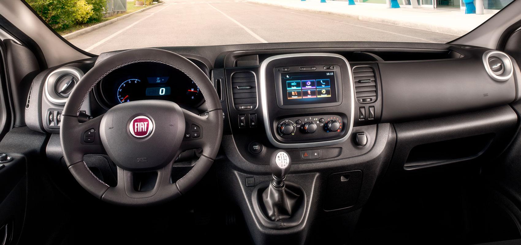Fiat Talento Cockpit