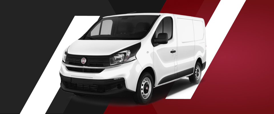 Artikelbild Fahrzeugvergleich Fiat Talento – zu sehen ist ein Fiat Talento