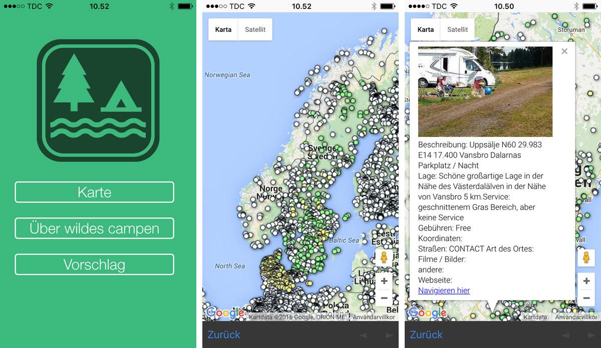 Die top Apps für Wohnmobil-Fahrer