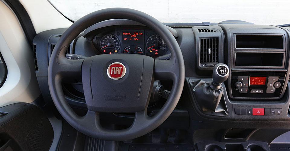 Innenraum des Fiat