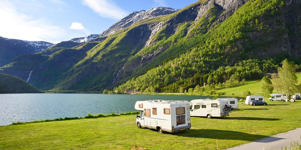 Mit dem Wohnmobil in die Alpen