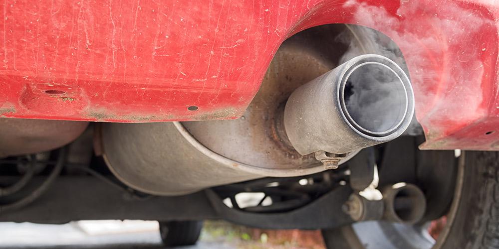 Stickstoffdioxid-Belastung durch Autos