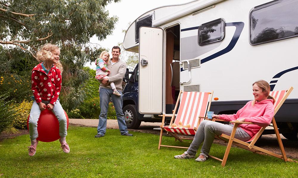 Familien-Urlaub mit dem Wohnmobil