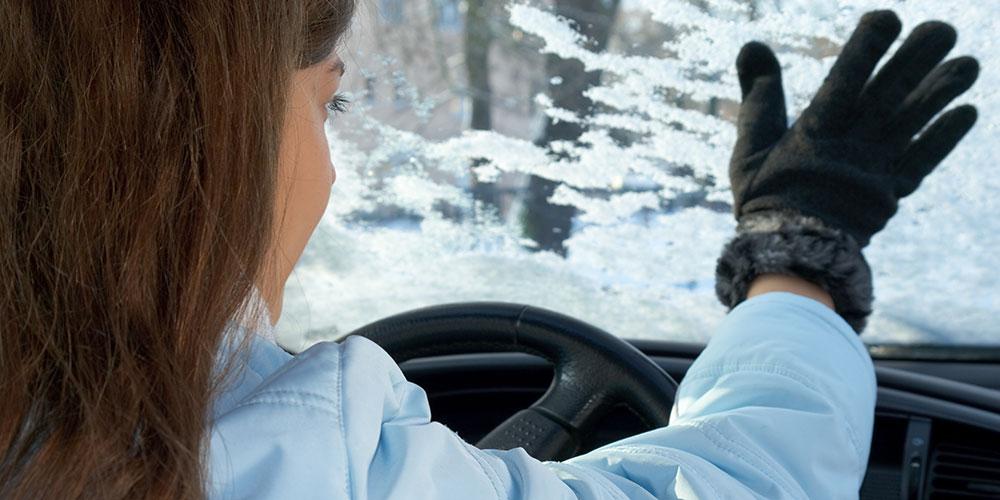 Frost Autoscheibe