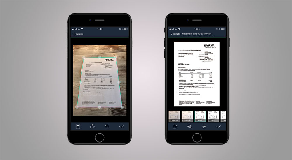 Handwerker-App Cam Scanner