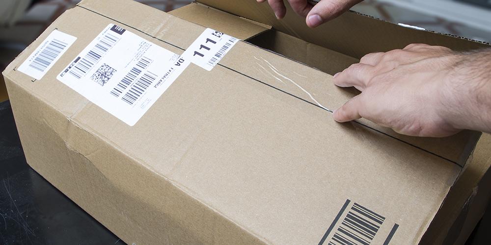 Ein Paket öffnen