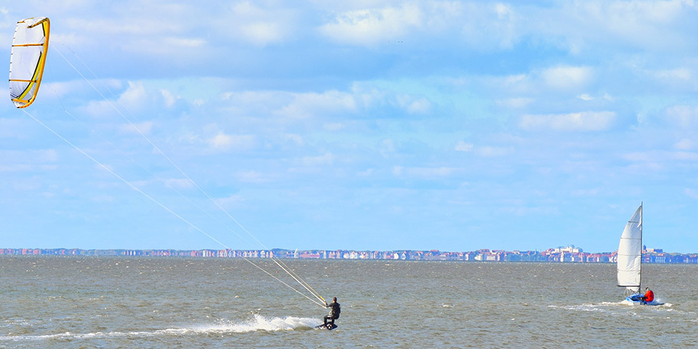 Kite- und Windsurfen auf Juist