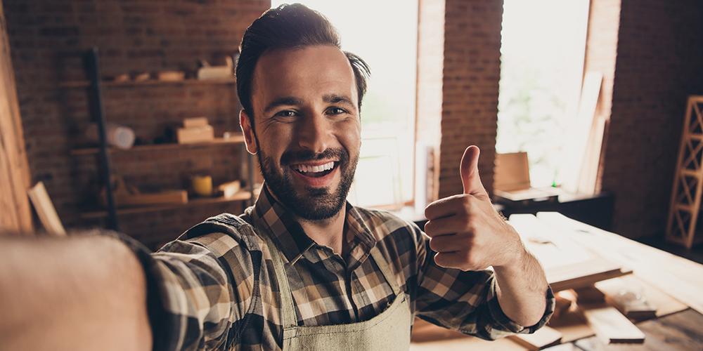Ist der Kunde glücklich, ist das ein Garant für weitere Aufträge über Handwerker-Portale.