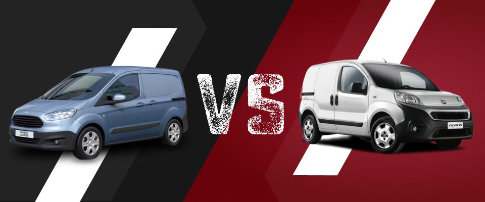 Ford Transit vs Fiat Fiorino