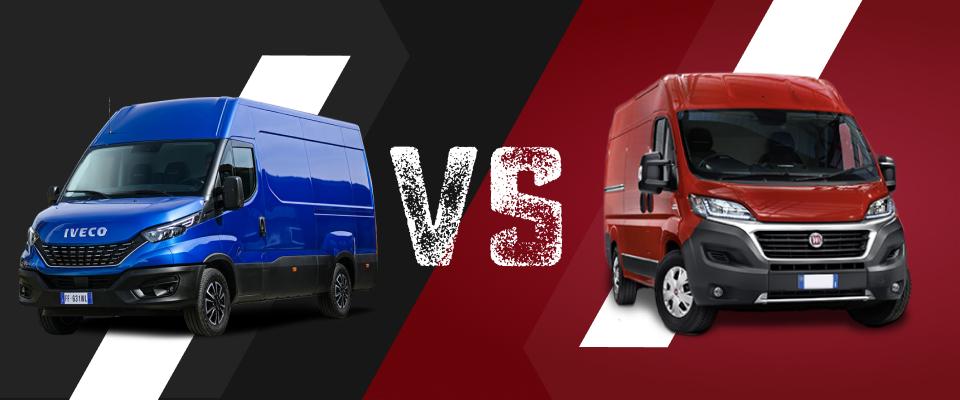 Iveco Daily vs Fiat Ducato