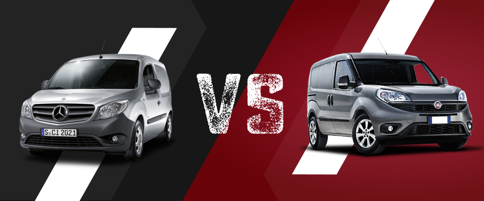 Mercedes Citan vs Doblo Cargo