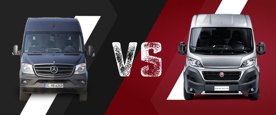 Mercedes Sprinter vs Fiat Ducato