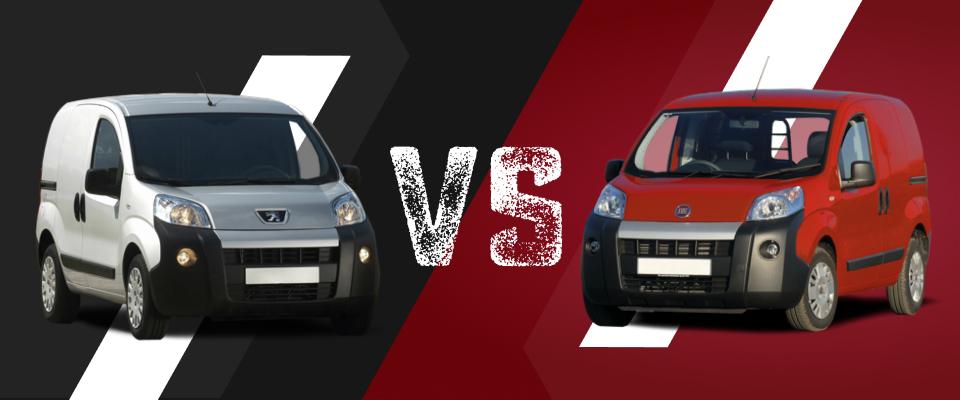 Peugeot Bipper vs Fiat Fiorino