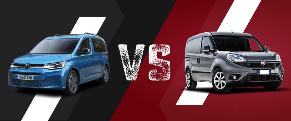 VW Caddy und Fiat Doblo Cargo im Vergleich