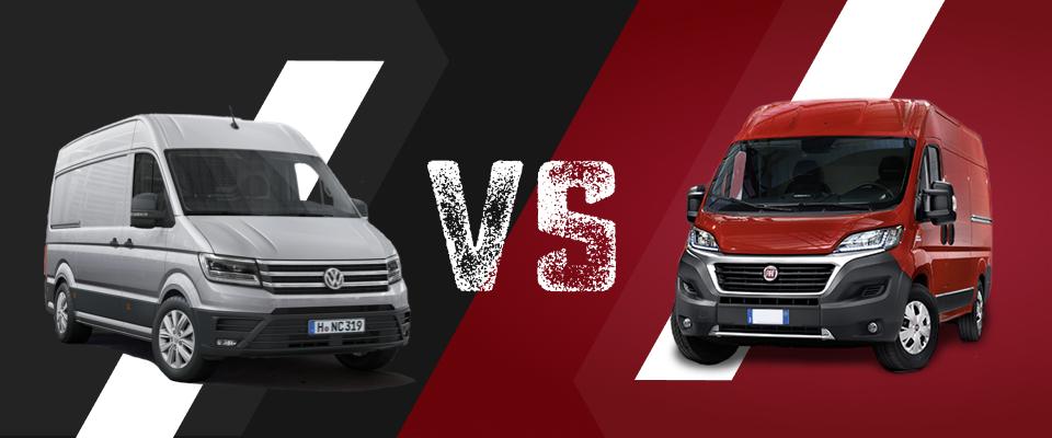 VW Crafter vs Fiat Ducato