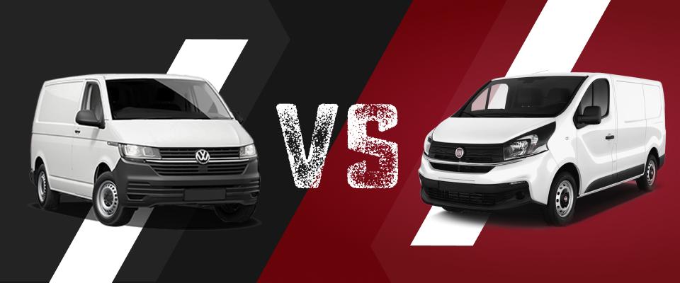 VW T6 vs Fiat Talento