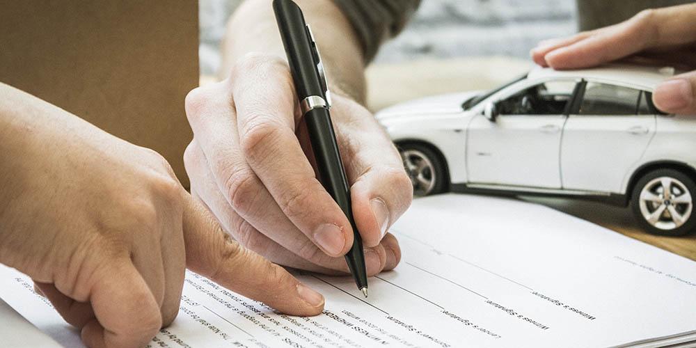Kaufvertrag für gebrauchten Transporter
