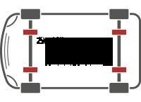 Transporter Vollluftfedersystem 4-Kanal