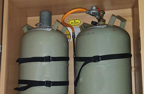 Wohnmobil Gasprüfung